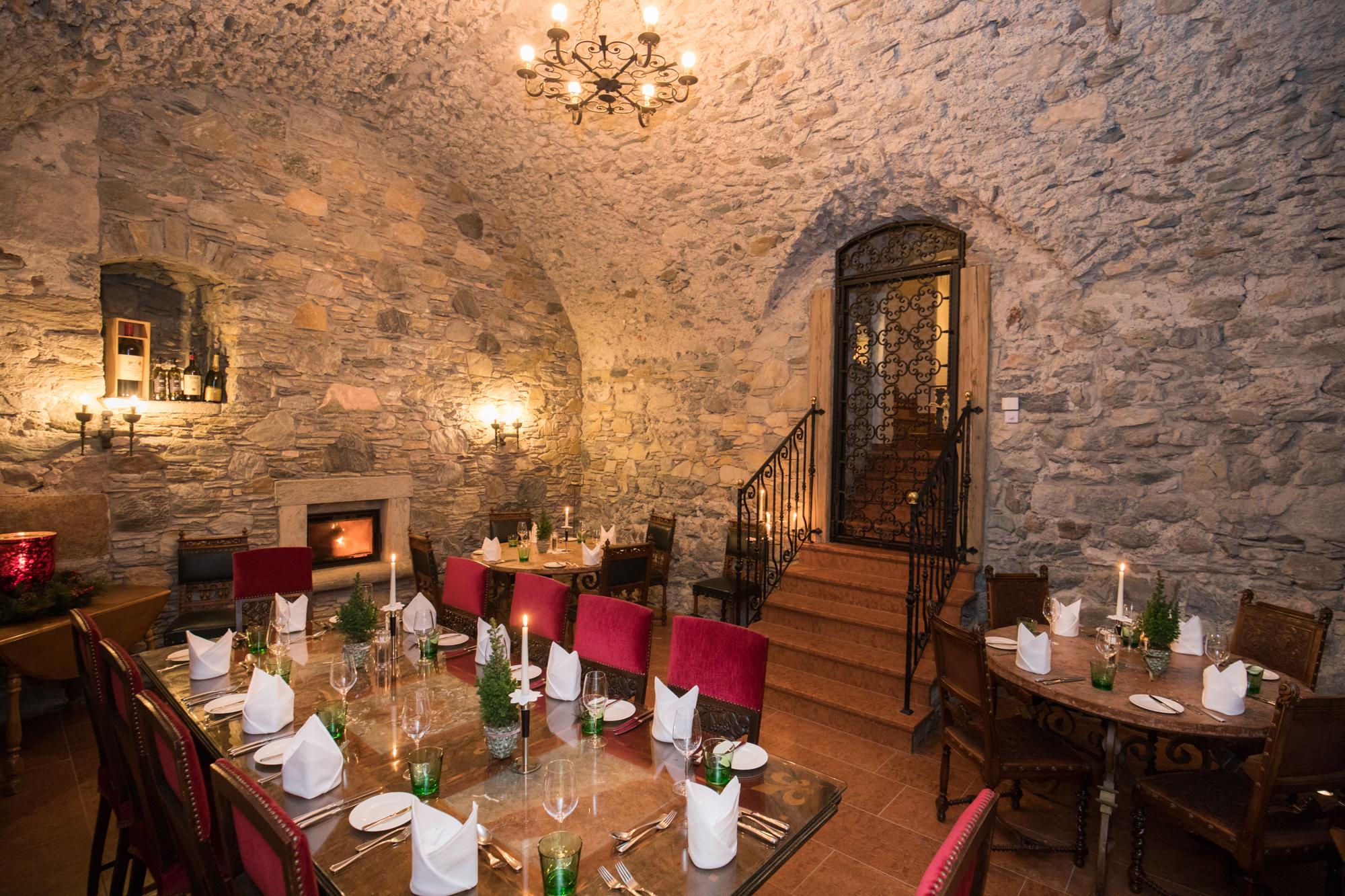 Gewölbekeller im Schloss Mittersill