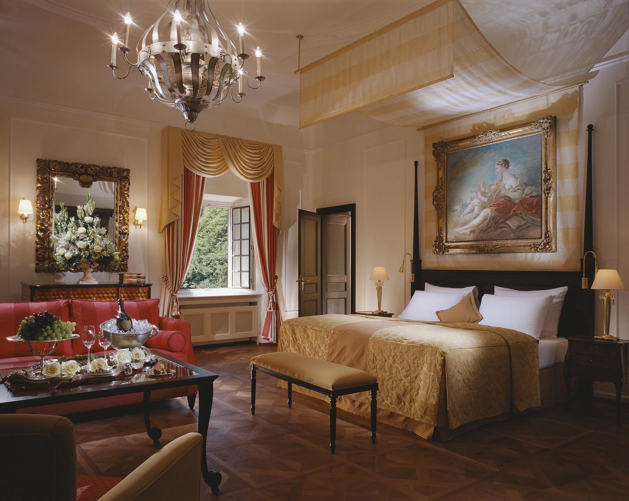 Sissi Suite im Schloss Fuschl