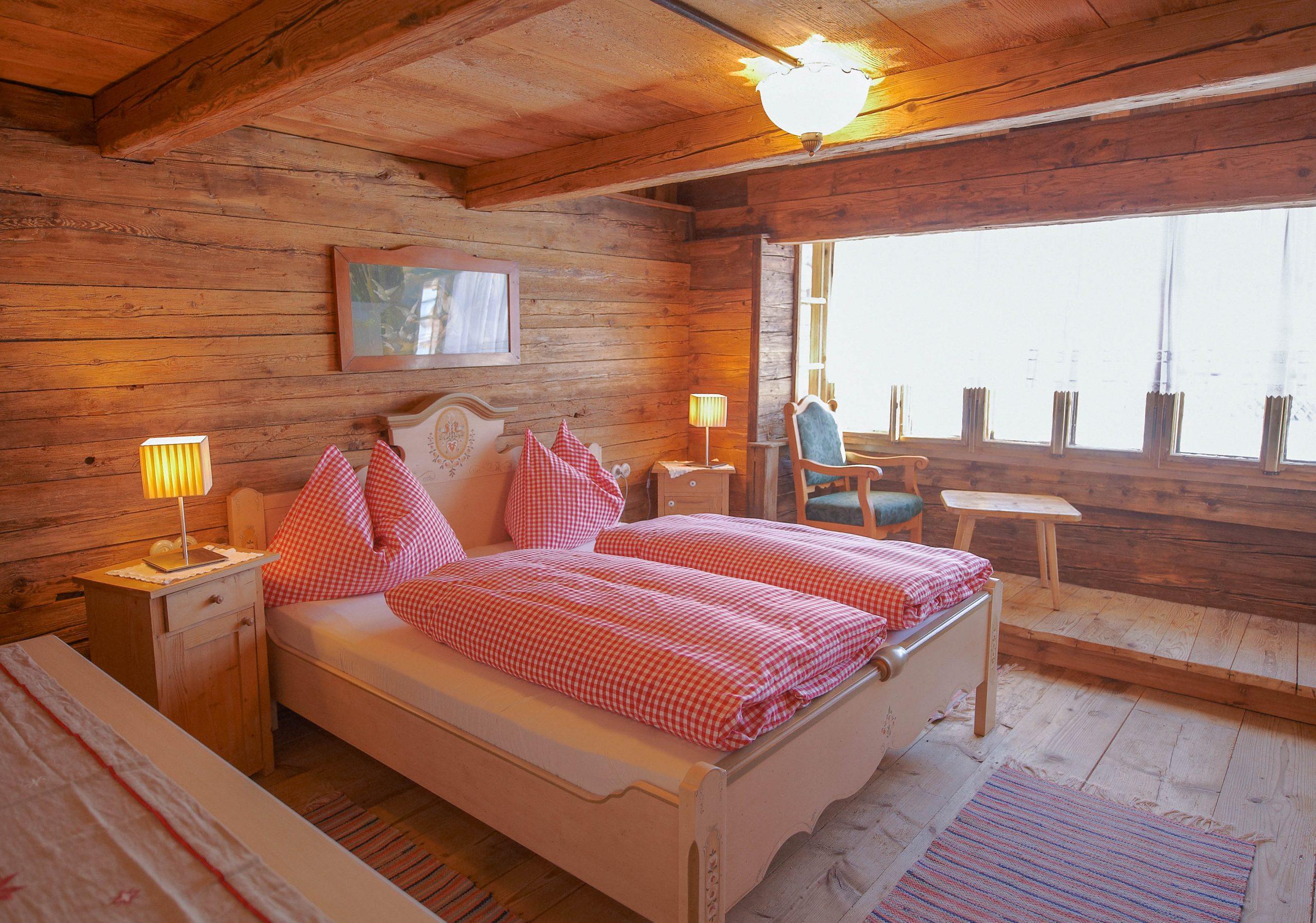 Zimmer in einem Troadkastn