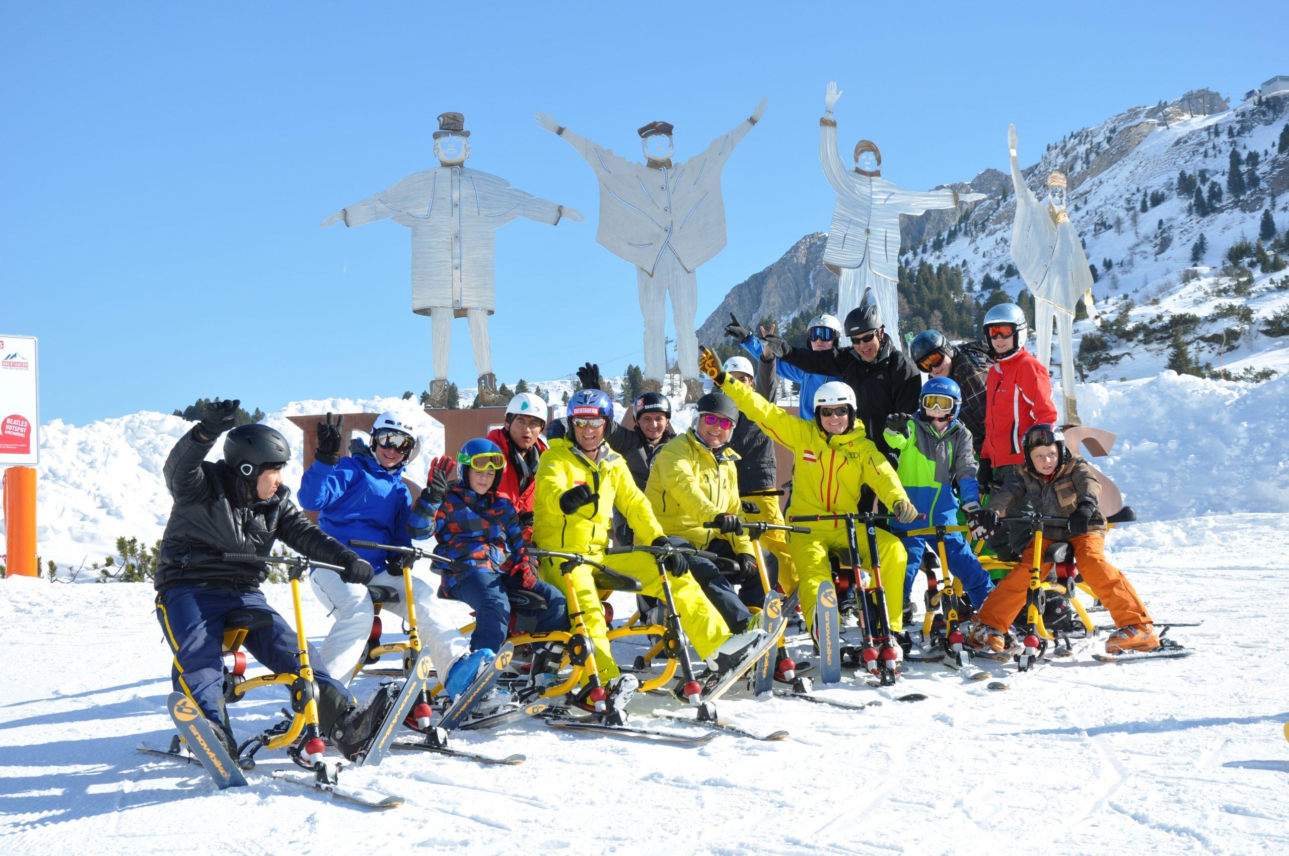 Snowbiken in Obertauern