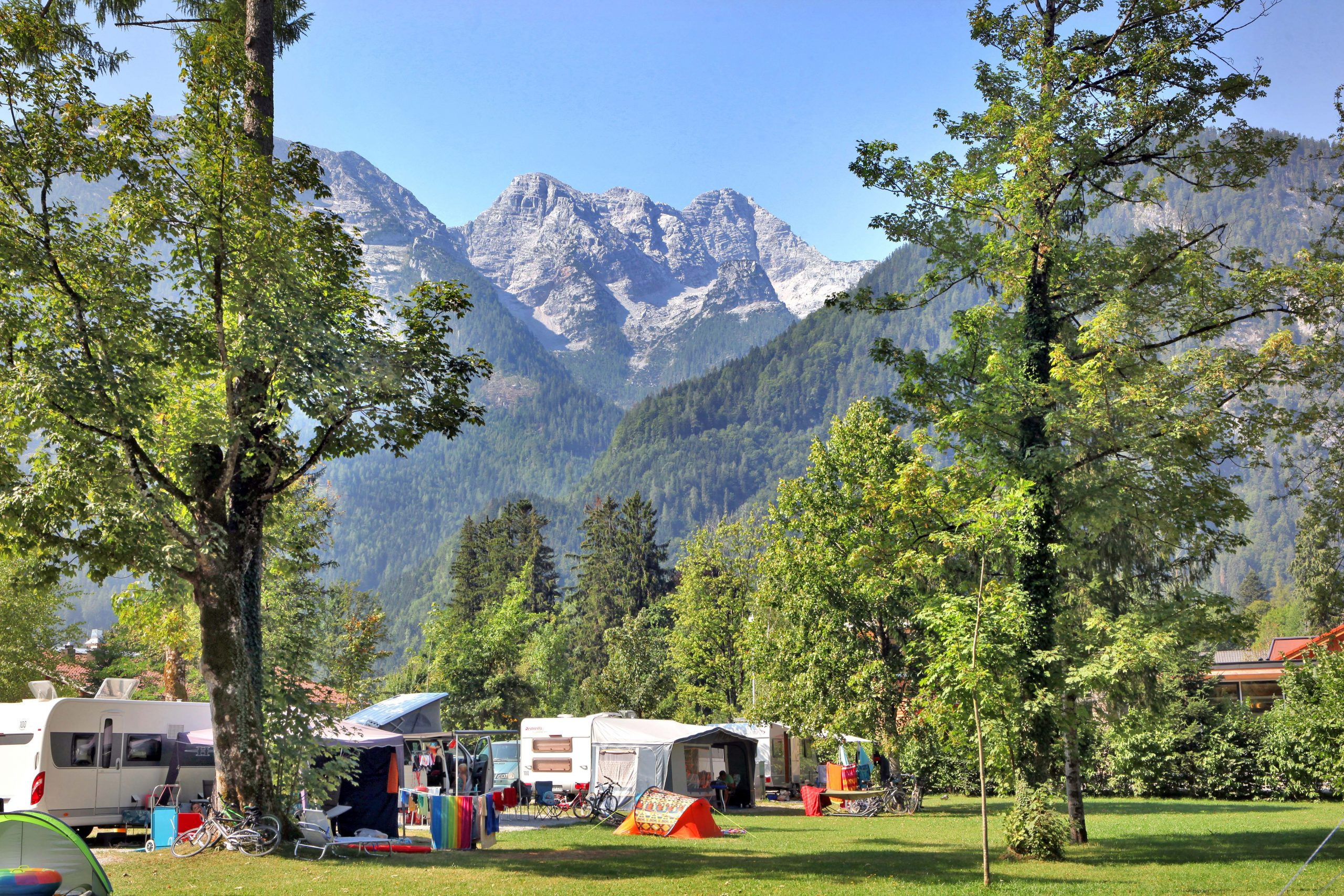 Grubhof Camping in Lofer