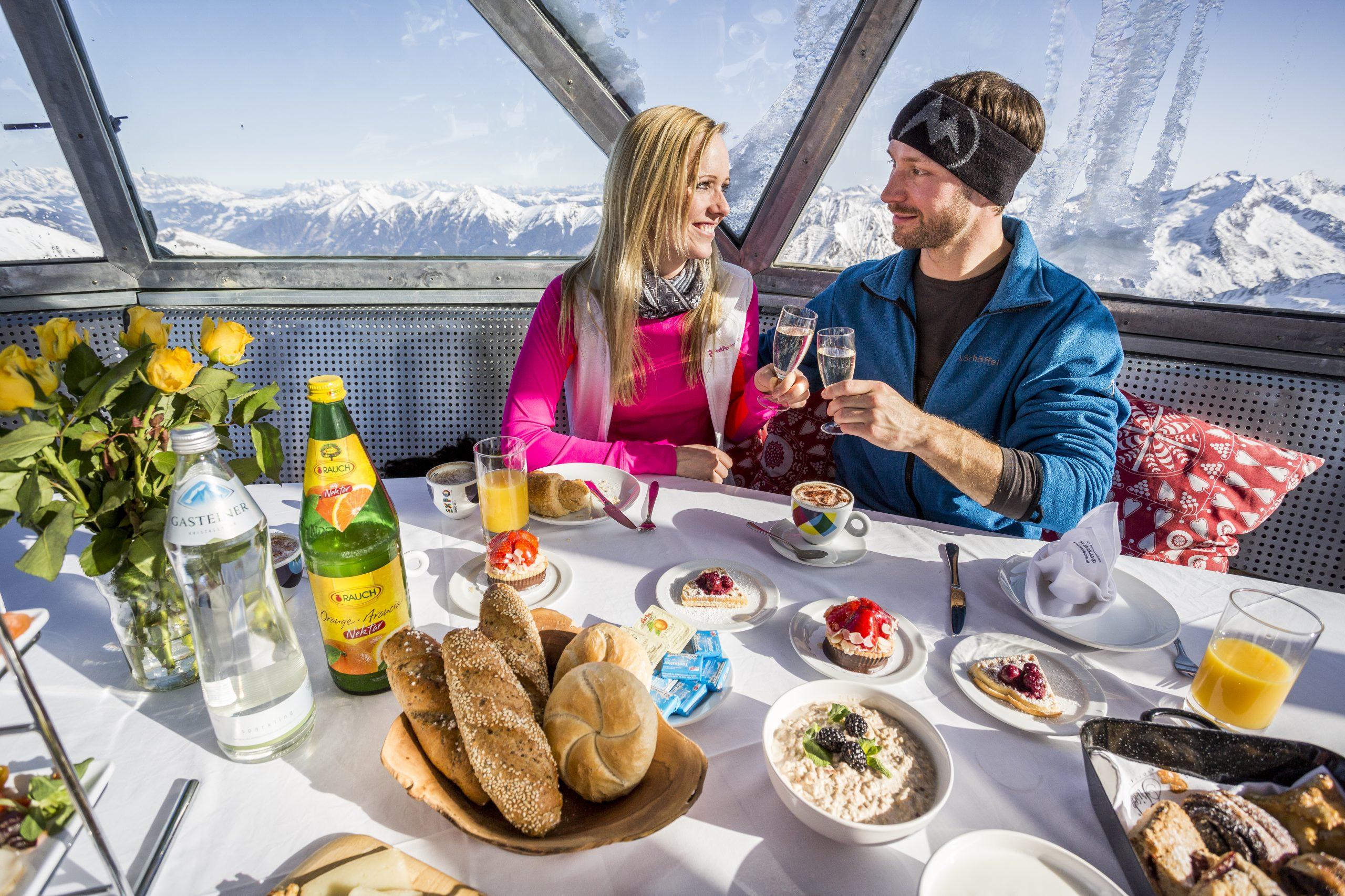 Gipfelfrühstück Sportgastein
