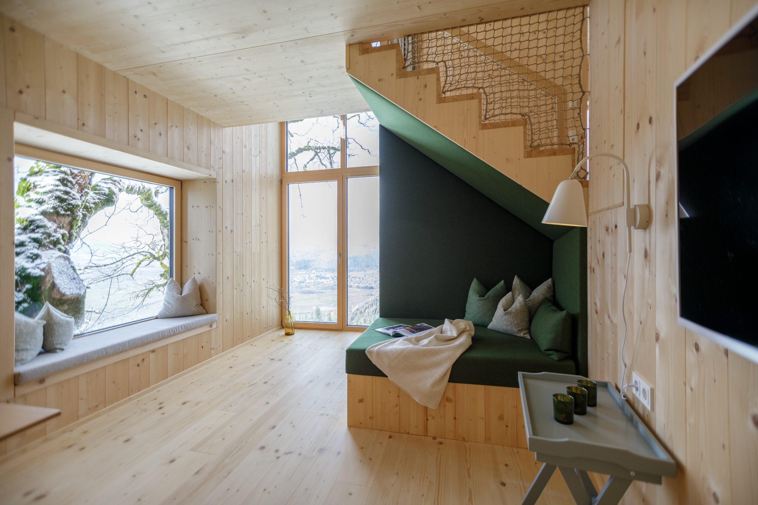 Baumhaussuite - Innenansicht