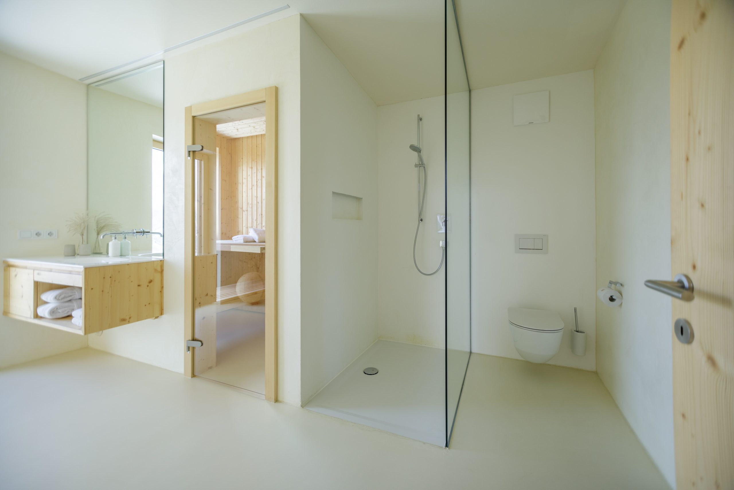 Baumhaussuite - Badbereich